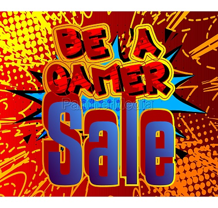pc or console gaming sale poster