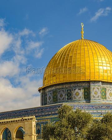 rock dome monument jerusalem city