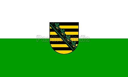 flag of saxony germany