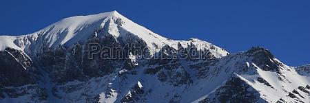 piz segnas mountain in the swiss