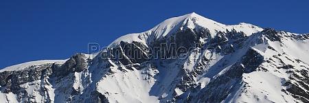 mountains piz segnas and piz sardona