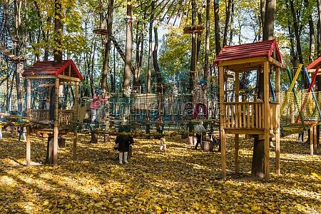 climbing adventure rope park