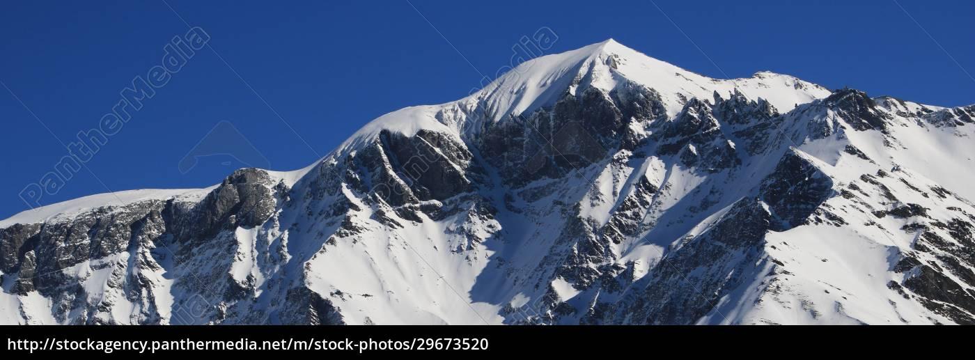 mountains, piz, segnas, and, piz, sardona - 29673520