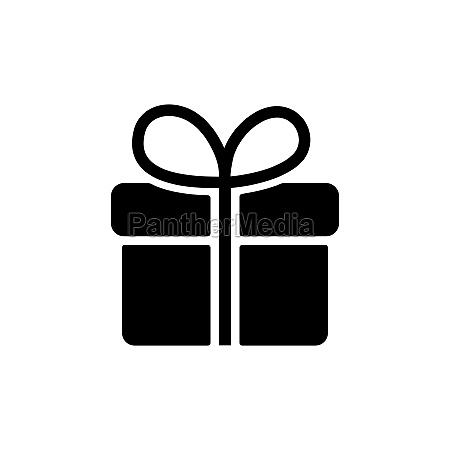 gift vector glyph icon e commerce