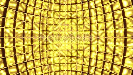 inside of sparkling disco ball computer