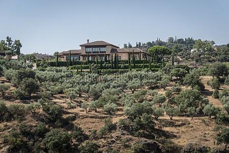 typical spanish villa
