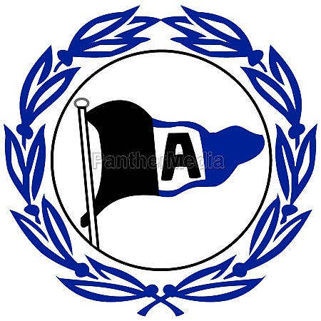 logo of arminia bielefeld germany