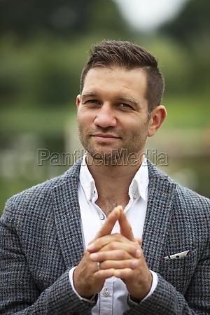portrait of a businessman vancouver british