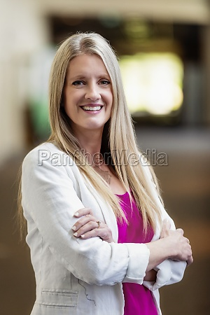 a professional mature business woman with