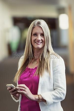 a professional mature business woman posing