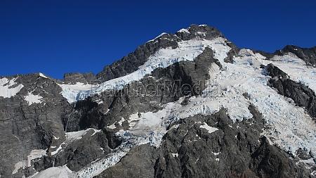 mount sefton and glacier