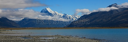 highest mountain of the southern alps