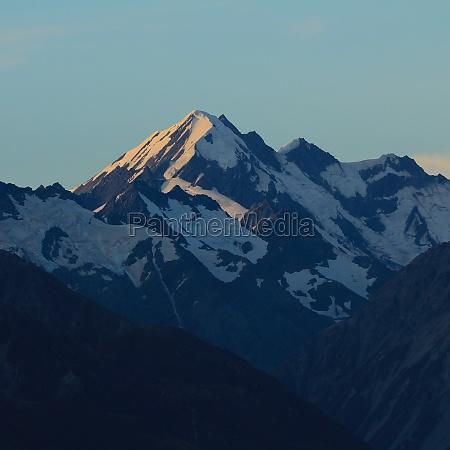 beautiful shaped mountain la perouse new