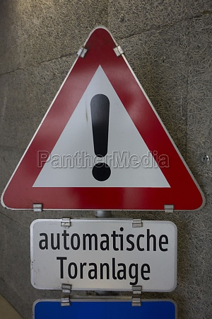 automatic gate system as entrance or