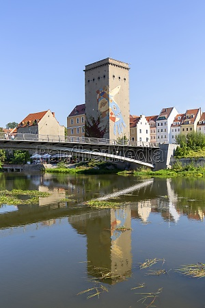 old town bridge on the