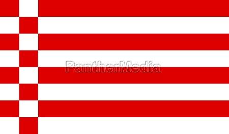flag of bremen germany
