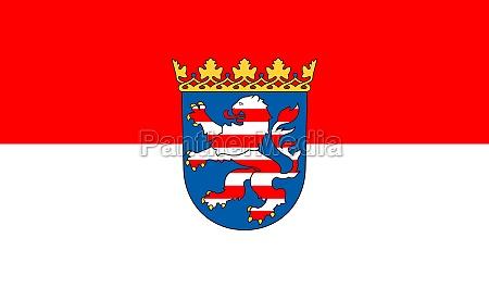 flag of hesse germany