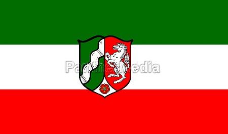 flag of north rhine westphalia