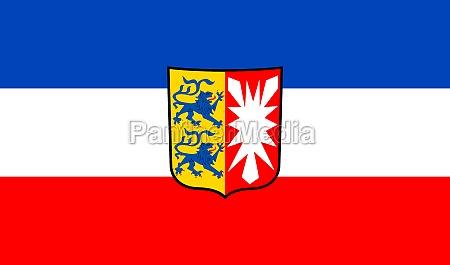 flag of schleswig holstein germany