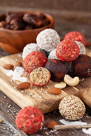 raw protein balls bliss balls