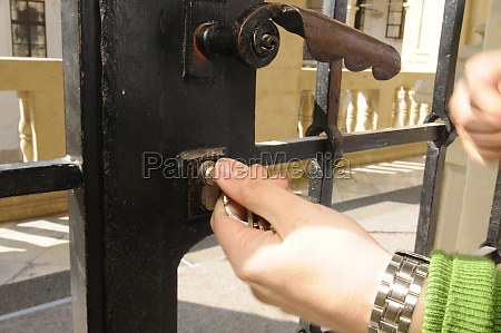 locking doors and property with a