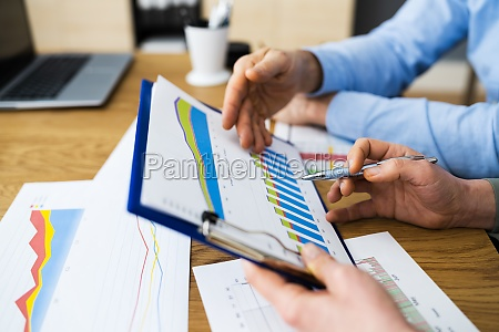 corporate people review revenue analytics