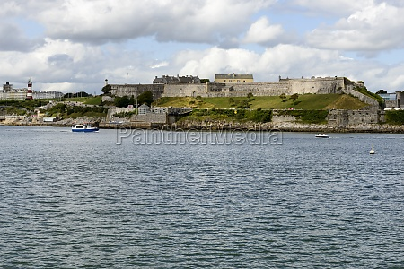 royal citadel and light house plymouth