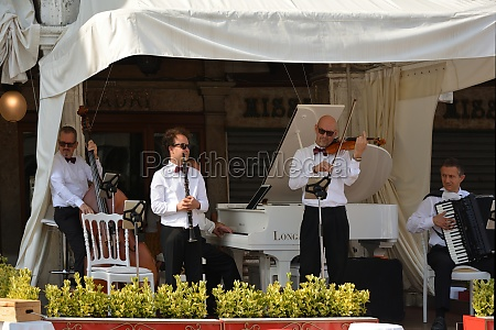orchestra on the piazza san marco