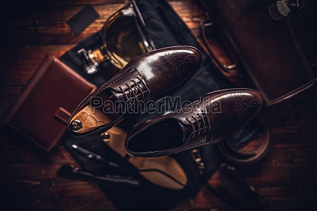 business look composition