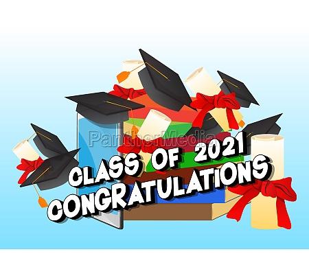 class of 2021 congratulations online virtual