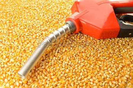 corn made biofuel