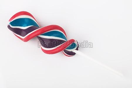 lollipop with stripes