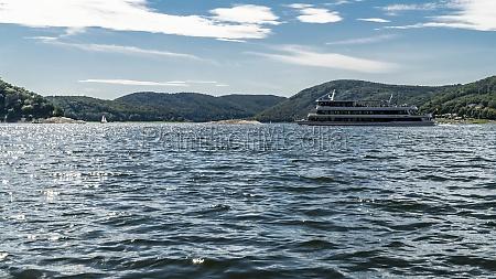 passenger ship on edersee