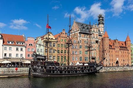 gdansk poland a replica of
