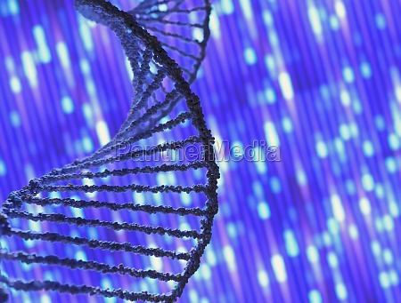 genetic code dna sequencing molecular concept