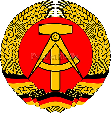 coat of arms of the gdr