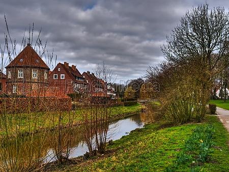 hiking around coesfeld in germany
