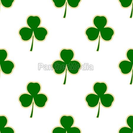 illustration on theme irish holiday st