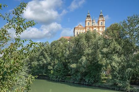 melk monastery danube river wachau valley