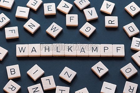 wahlkampf is a german term used