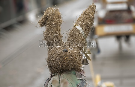 easter bunny as symbol of easter