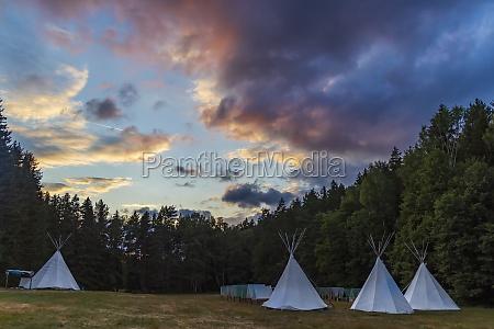 scout camp western bohemia czech republic