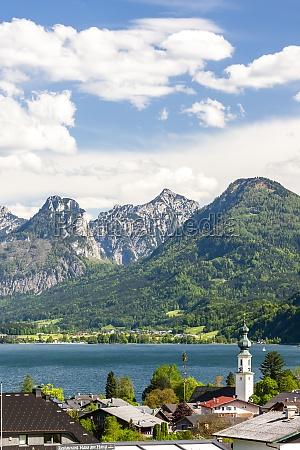 landscape near st gilgen austria