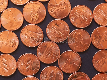 1 cent coin united states