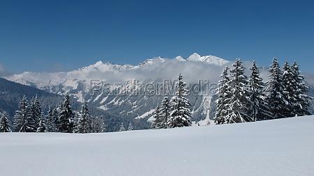 winter landscape near gstaad