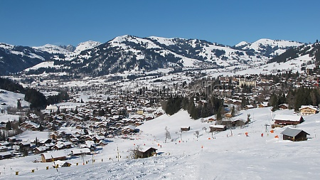 winter in gstaad