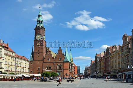 old town hall in wroclaw