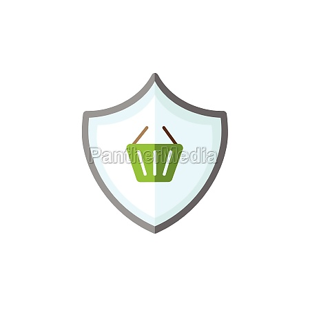 secure purchase security shield and shopping