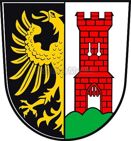 city arms of kempten germany