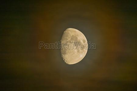 moonlight in a dusty night